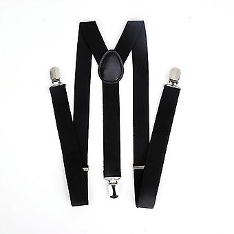Elastic Leather Suspenders,  Vintage Men's, Women Suspender Trousers, Wedding