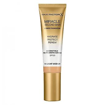 Fondation hybride Max Factor Miracle Second Skin