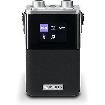 DZK BlutuneT2 Portable DAB Radio with Two Alarms, Bluetooth Connectivity and Smartphone Charging
