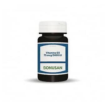 Bonusan Vitamina D3 75 Mcg / 3000 Ui 60 Cápsulas de Gel