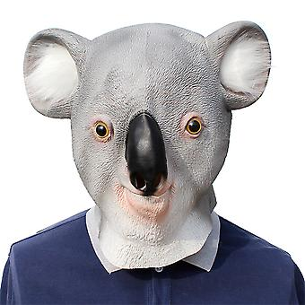 Halloween Latex Mask Party Koala Mask Party Costume Props