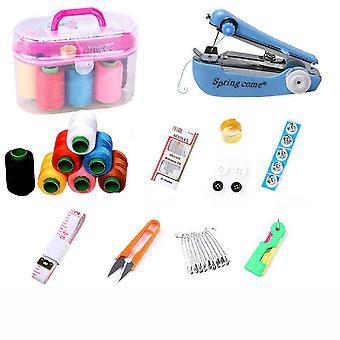 Sewing Kit Small Multi-functional Household Hand Stitch Needle Thread Storage Kit