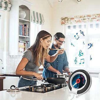 Bärbar Cd-spelare med Bluetooth (vit)