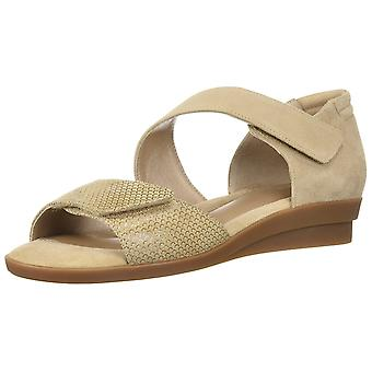 BeautiFeel Womens Dita Leather Open Toe Casual Platform Sandals