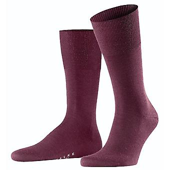 Falke Airport Midcalf Socks - Plum Pie Purple