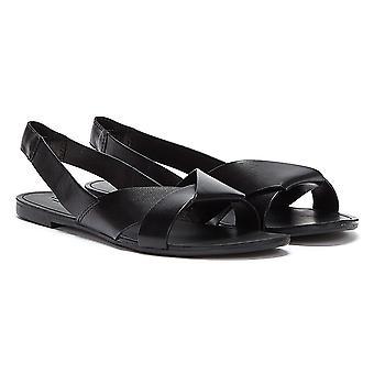 Vagabond Tia Slingback Womens Black Sandals
