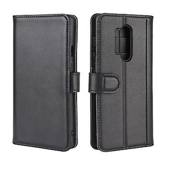 حقيبة جلدية مغناطيسية أنيقة ل OnePlus 5/OnePlus 5 - أسود