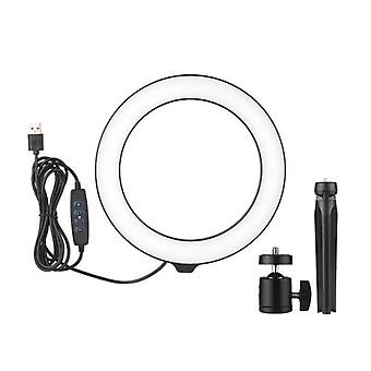 8inch Ring Light with Tripod Stand Rotable Selfie Makeup Ringlights
