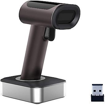 HanFei 1D CCD Wireless Barcode-Scanner, Handheld 2,4 GHz Wireless Barcode-Lesegert fr Windows, Mac.