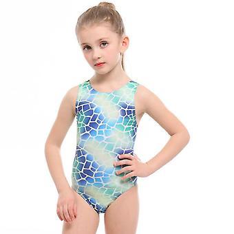 Girl's one-piece children's swimming training triangle swimwear