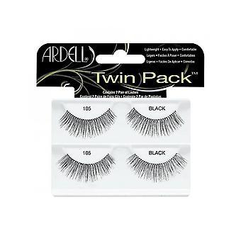Ardell Twinpack 105 musta helppo soveltaa täysin vääriä silmä ripsiä