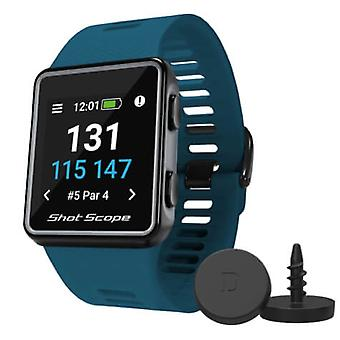 Shot Scope V3 GPS en Performance Tracking Advanced Golf Watch Teal