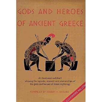 Goden en helden van het oude Griekenland door Samengesteld door Robert A Brooks
