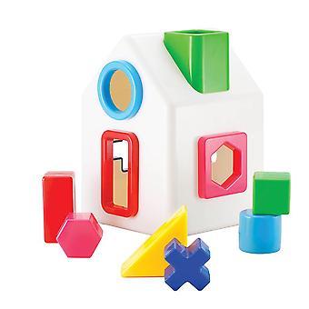 Kid o - sort-a-tray talo - vastaavat muodot