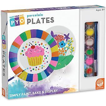 Mindware - paint your own porcelain plates