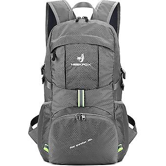 FengChun Leichte Packbare Reise Wanderrucksack Daypack, 35L faltbar Camping