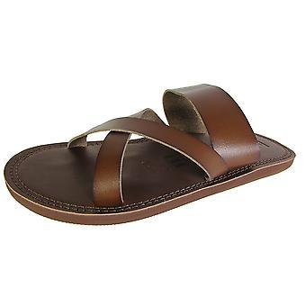 Madden Mens M-Kross Strappy Flip Flop Sandal Slide Schoenen