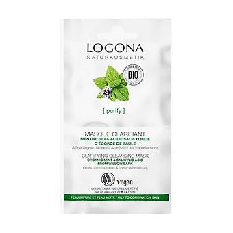 Purifying Mask Mint Bio & Salicylic Acid 75 ml of cream
