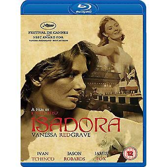 Isadora Blu-Ray