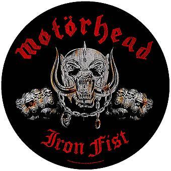 Motorhead - Iron Fist Back Patch