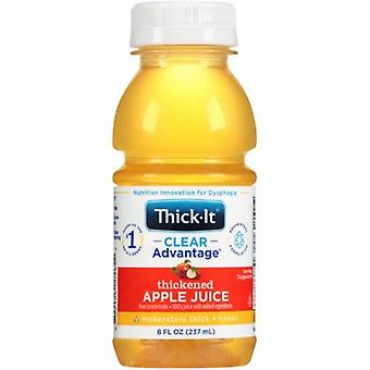 Kent Precision Foods Thickened Beverage, Apple Flavor, 8 Oz