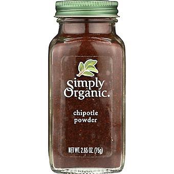 Simply Organic Spice Chipotle Pwdr Btl, Case of 6 X 2.65 Oz