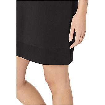 Brand - Core 10 Women's Soft Cotton Modal Relaxed Fit Short Sleeve Sweatshirt Dress