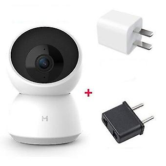 2k Hd Wifi Pan-tilt Night Vision 360 Angle Video Camera, Baby Security Monitor