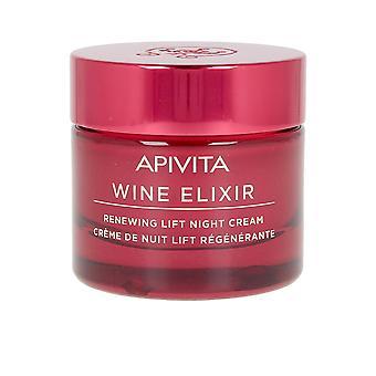Apivita Wine Elixir Rinnovando Lift Night Cream 50 Ml Unisex
