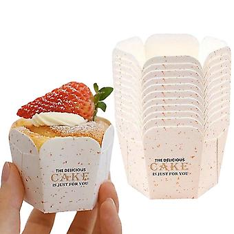 50pcs Muffin Cases Paper Baking Cups