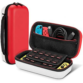 Case For Nintendo Switch With Storage Space For 19 Game Cartridges