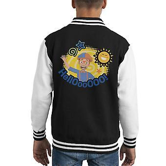 Blippi Hello Sun Kid's Varsity Jacket
