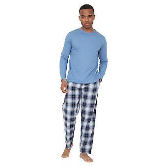Mens verificat Jersey pijamale