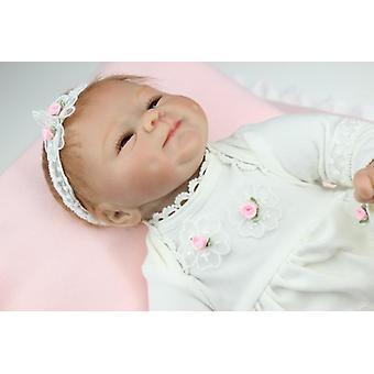 Wedergeboorte pop hete verkoop levensechte herboren babypop groothandel zachte echte touch babydolls mode pop kerst schattig cadeau