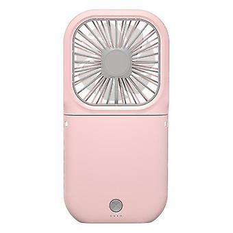 Mini fans usb rechargeable handheld fan adjustable desktop fan air cooler