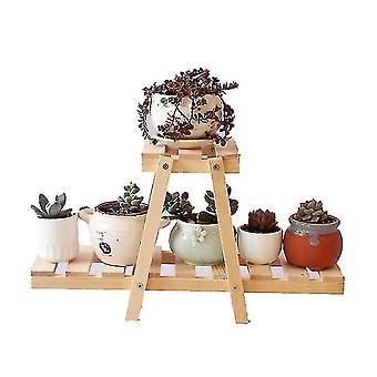 Simple Mini Succulent Flower Shelf Office Balcony Multi Layer Plant Storage Rack Potted