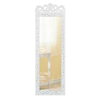 Accent Plus Romantic Scrolled Wood Wall Mirror, Pack of 1