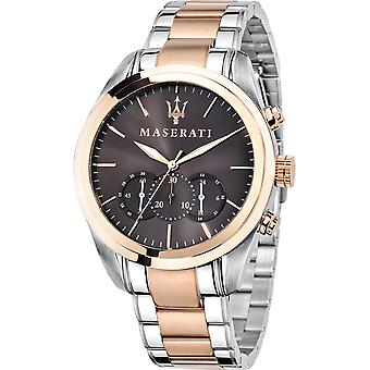 Maserati Traguardo Chronograph Brown Dial Men's Watch R8873612003
