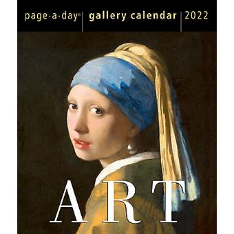 Art PageADay Gallery Calendar 2022 by Workman Calendars