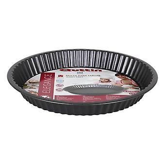 Baking tray Quttin (25,5 x 3 cm) Grey Carbon steel
