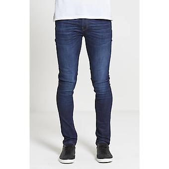 Dml jeans chaos skinny stretch jeans - dark wash
