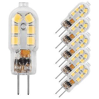 10x G4 Led Glühbirne Cool White Ac/dc 12v 2w Glühbirne