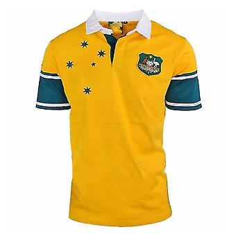 Austrália Retro Jersey Rugby Jersey Sport