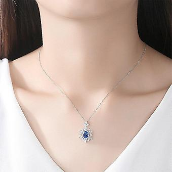 Gorgeous Big Flower Pendant Necklace For Women 100% Jewelry|Necklaces