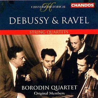 Debussy/Ravel - Debussy & Ravel: stråkkvartetter [CD] USA import