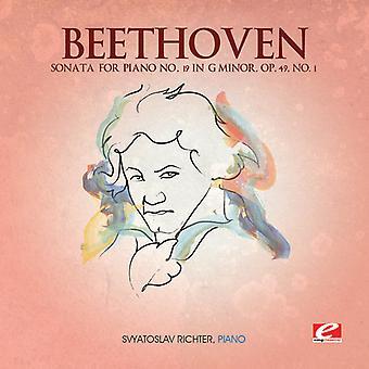L.W Beethoven - Beethoven: Sonate für Klavier Nr. 19 in G Minor, op. 49. Nr. 1 [CD] USA import