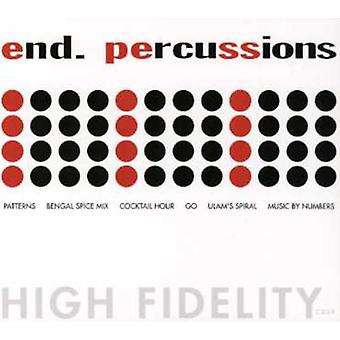 End - Percussions EP [CD] USA import