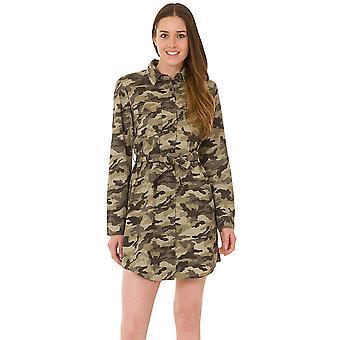 Camouflage Shirt Dress