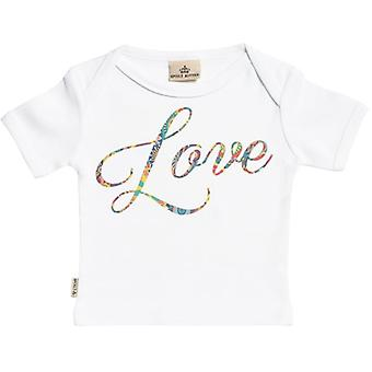 Spoilt Rotten Love Design Short Sleeve Baby T-Shirt