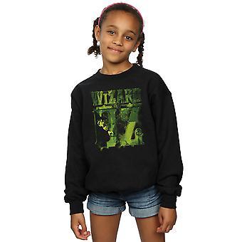 The Wizard Of Oz Girls Wicked Witch Logo Sweatshirt